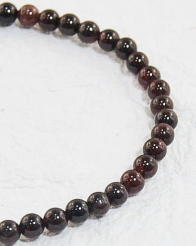 Garnet Mini Gemstone Energy Bracelet