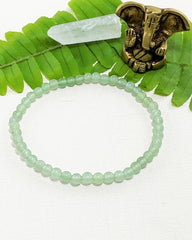 Green Aventurine Mini Gemstone Energy Bracelet