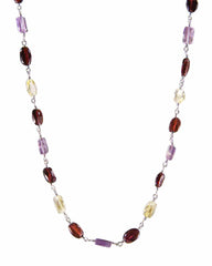Harmony Multi Gemstone Sterling Silver Necklace
