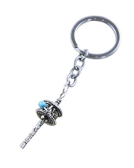 Mini Prayer Wheel Key Chain