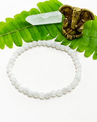 Moonstone Mini Gemstone Energy Bracelet