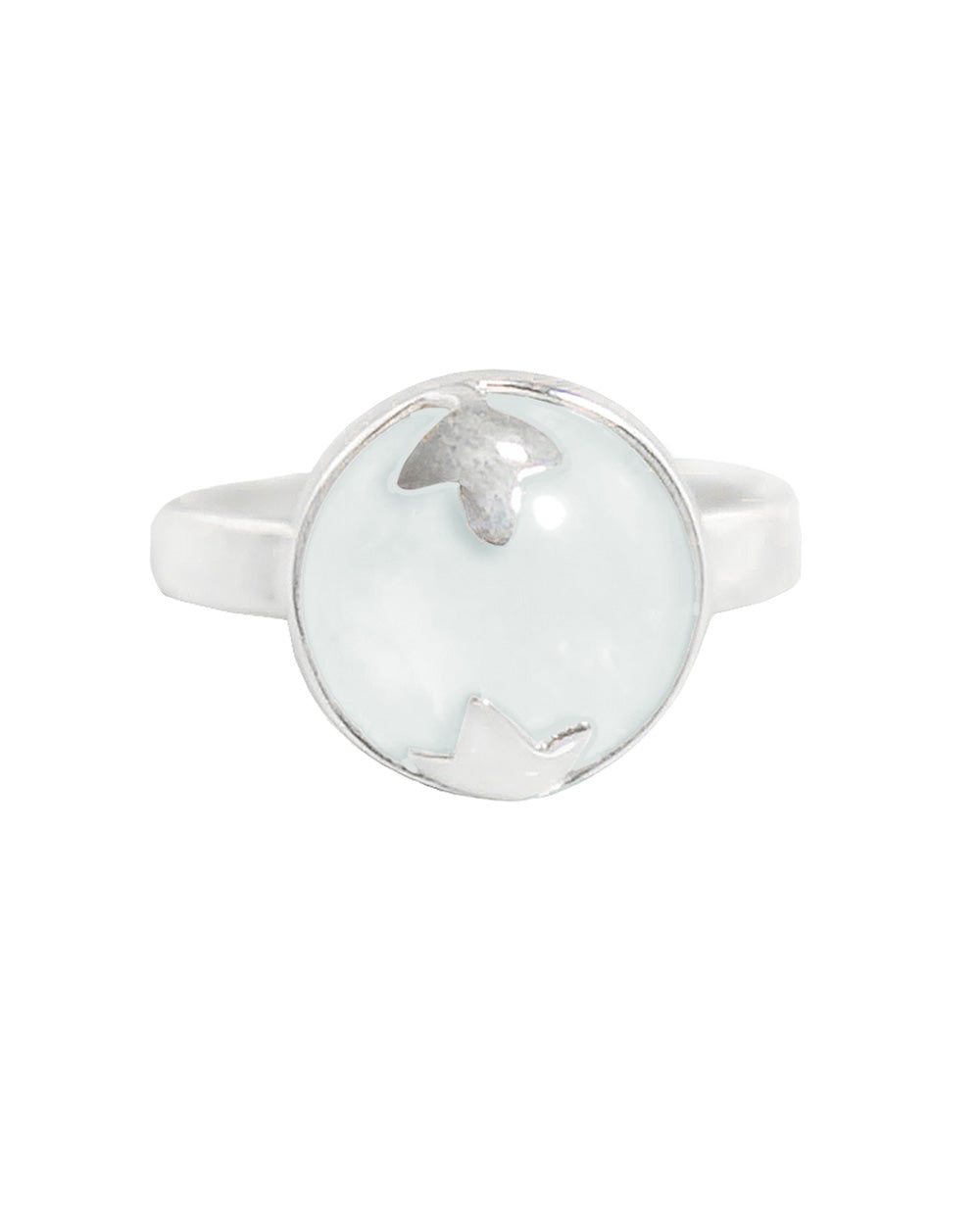 Moonstone Spellbinder Ring in 925 Sterling Silver