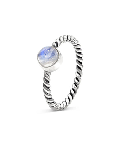 Nova 925 Sterling Silver Ring Moonstone