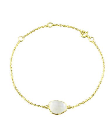 Power Gemstone Bracelet for Calmness - Moonstone