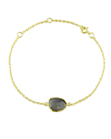 Power Gemstone Bracelet for Transformation - Labradorite