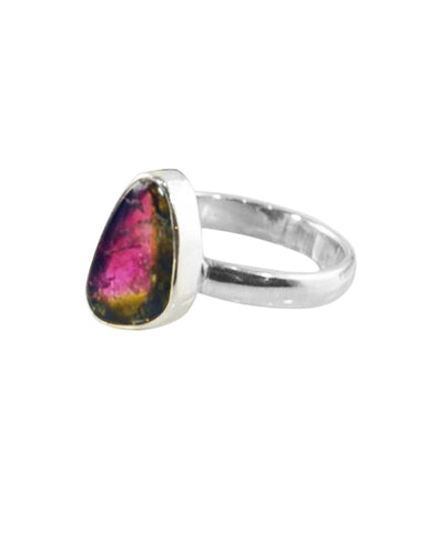 Power Gemstone Ring for Abundance - Tourmaline