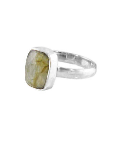 Power Gemstone Ring for Transformation - Labradorite