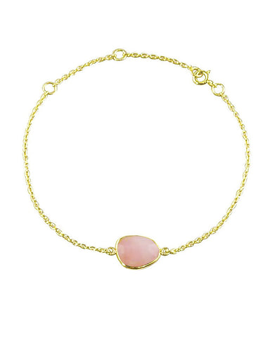 Power Gemstone Bracelet for Love - Rose Quartz