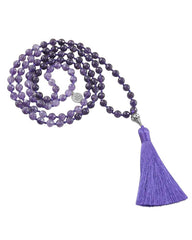 Protection and Stability Mala Amethyst