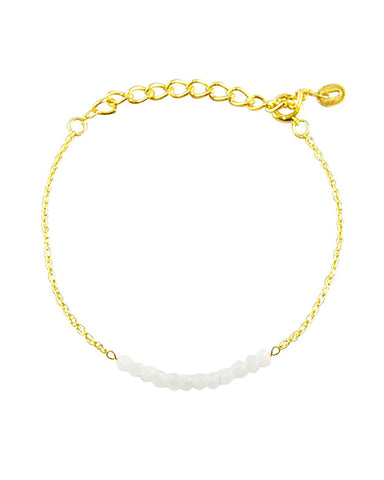 Arise Moonstone Bar Bracelet