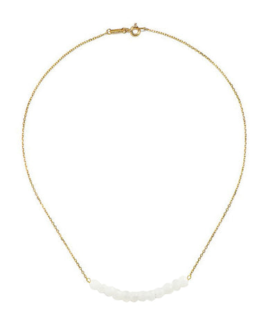 Arise Moonstone Bar Necklace