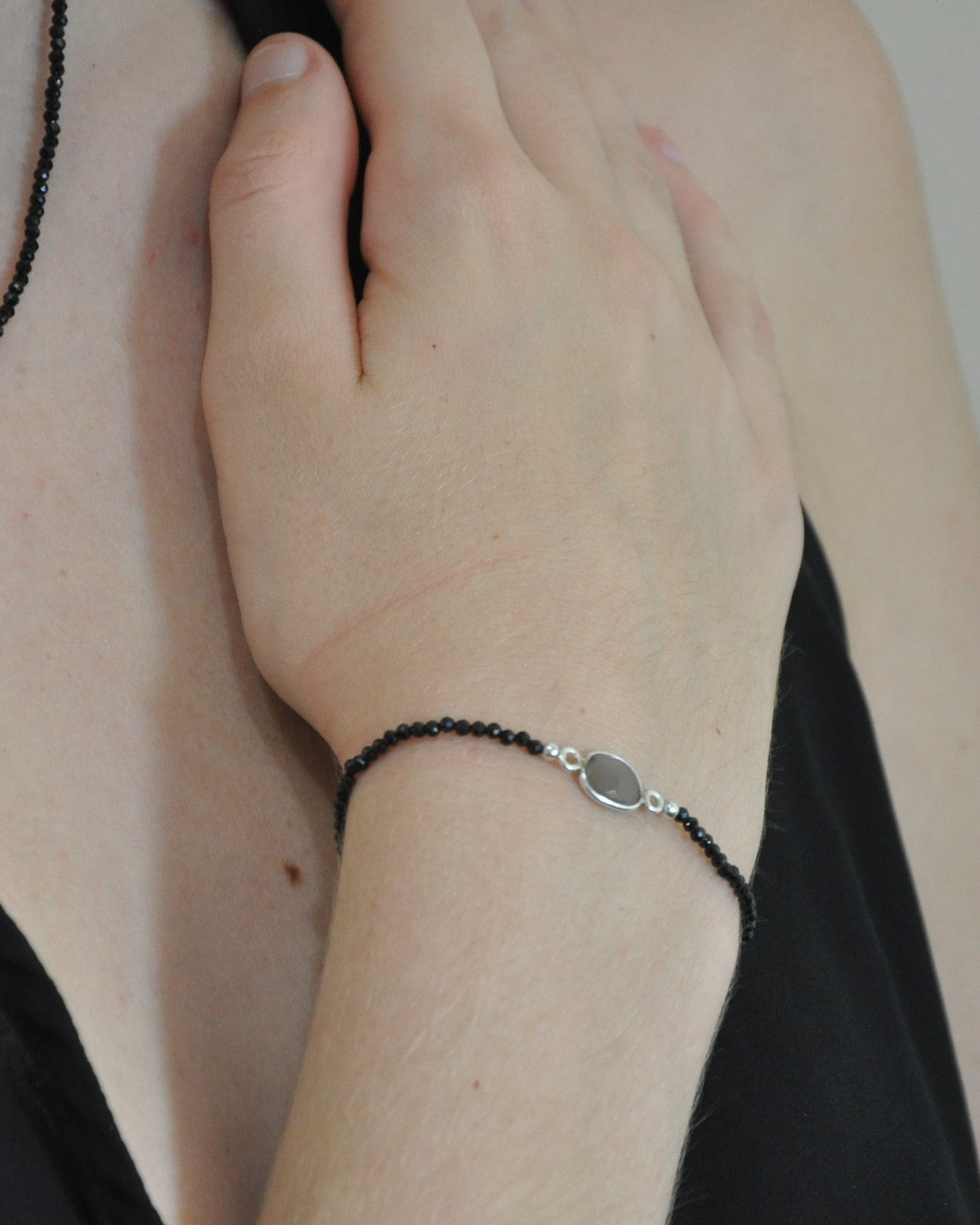 Empowered Black Spinel Bracelet - Confidence