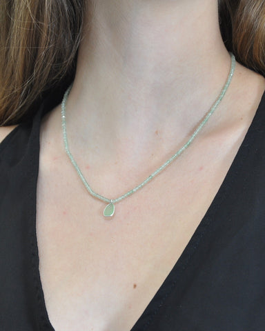 Empowered Green Aventurine Necklace - Good Luck