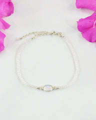 Empowered Moonstone Bracelet - Calmness