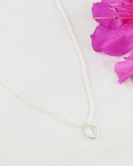 Empowered Moonstone Necklace - Calmness