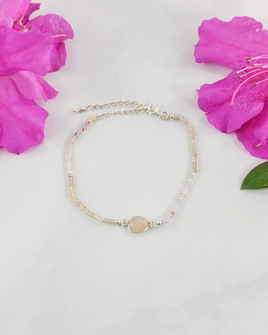 Empowered Rose Quartz Bracelet - Love