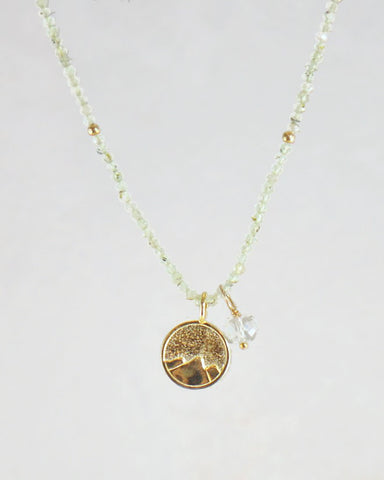 Infinite Growth Necklace Gold Vermeil