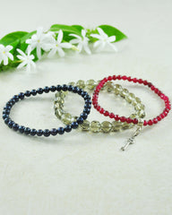 Key to Success Mini Gemstone Bracelet Set