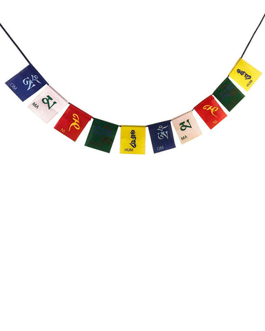 Om Mani Padme Hum Prayer Flags - Large