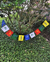 Om Mani Padme Hum Prayer Flags - Medium