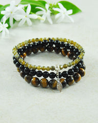 Clarity of Purpose Mini Gemstone Bracelet Set