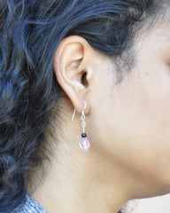 Seeking Empowerment Earrings Sterling Silver