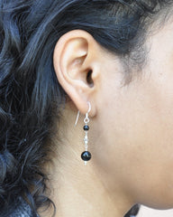 Strong Protection Black Onyx Earrings