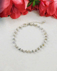 Transformation Labradorite Sterling Silver Bracelet