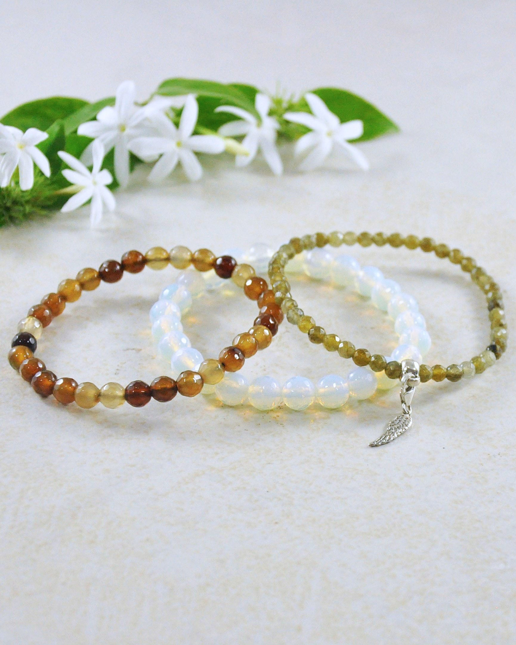 Fly High Mini Gemstone Bracelet Set