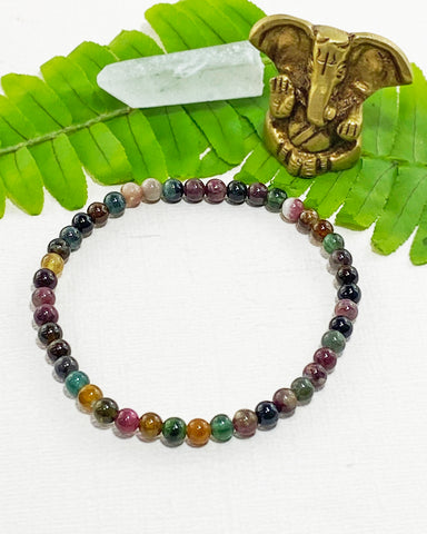 Tourmaline Mini Gemstone Energy Bracelet