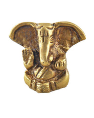 Adorable Lord Ganesha Statue in Brass