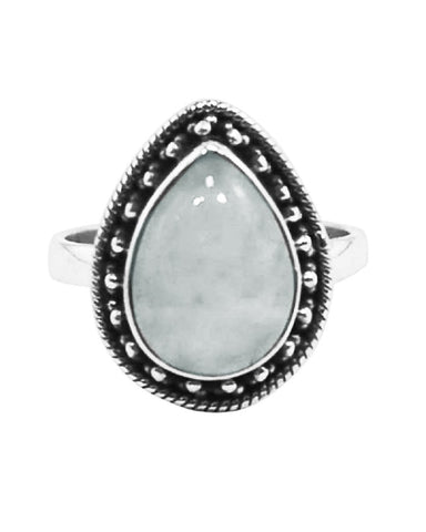 Amalfi Moonstone Sterling Silver Ring