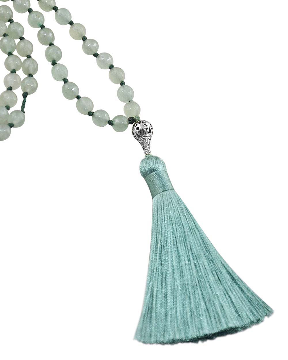 Aventurine Mala Confidence and Enlightenment