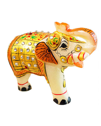 Decorative Marble Elephant Ganesha Statue