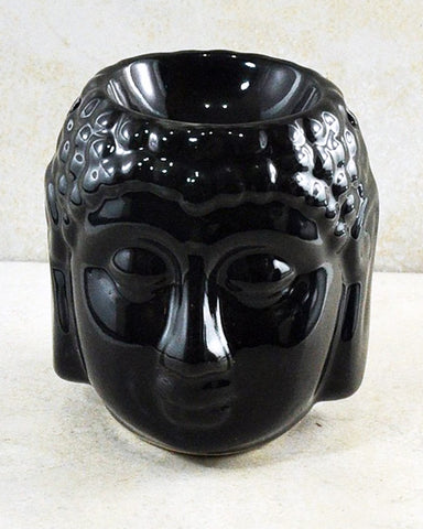 Serene Buddha Essential Oil Diffuser Black Ceramic