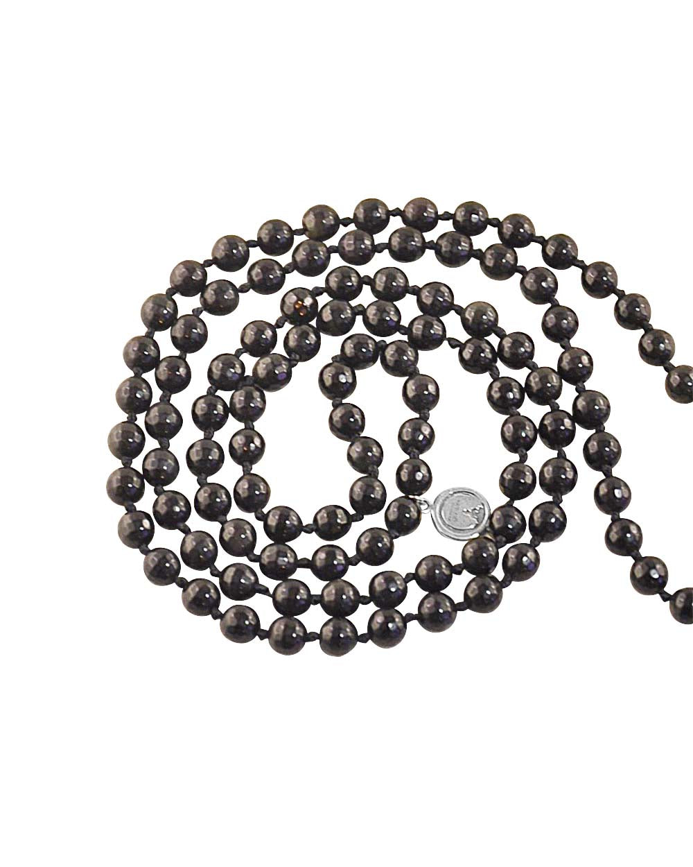 Thrive and Succeed Mala Black Obsidian