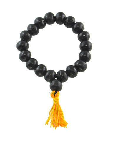 Black Rosewood 18 Beads Meditation Wrist Mala