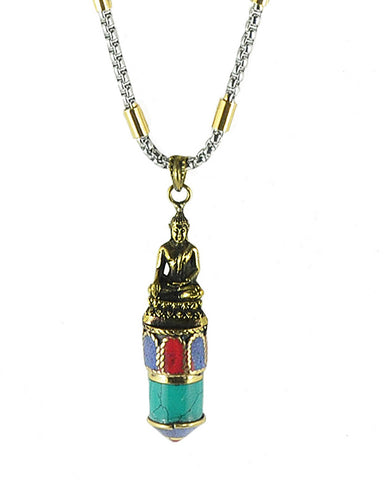Buddha Enlightenment Necklace for Men