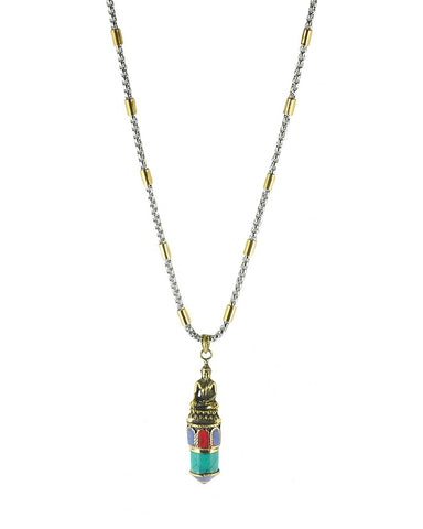 Buddha Spiritual Enlightenment Necklace for Men