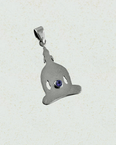 Little Buddha Chakra Pendant in Sterling Silver - Sivalya