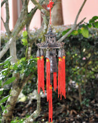 Chi Energy Feng Shui 7 Bells Pagoda Wind Chime | Wall Decor