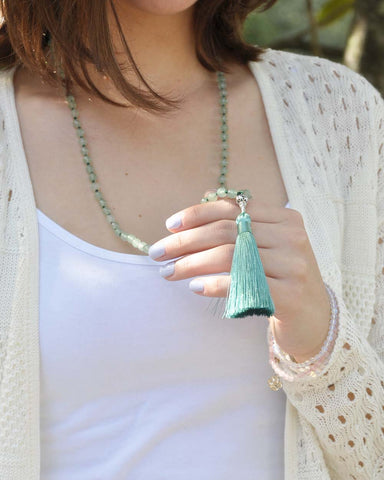Creativity and Transformation Mala Aventurine