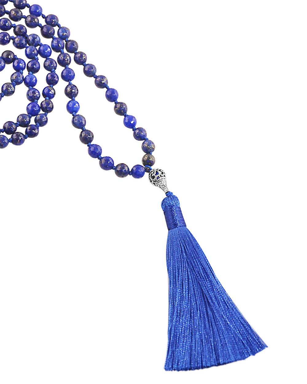 Elevated Consciousness Mala Lapis Lazuli