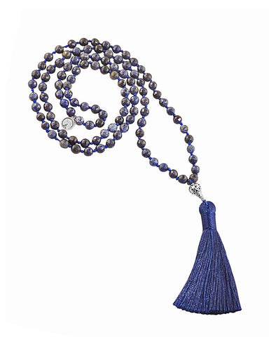 Empowered Confidence Mala Dumortierite