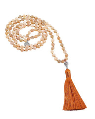 Empowered Goddess Mala Moonstone
