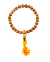 Sandalwood Beads Buddhist Meditation Wrist Mala