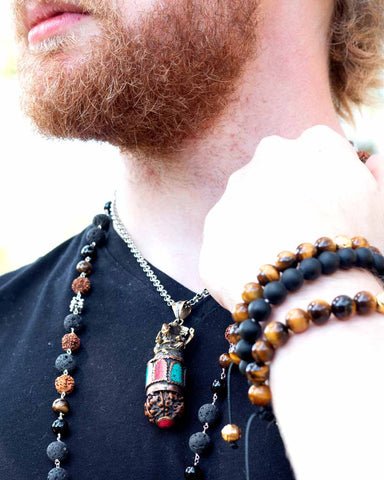 Ganesha Prosperity and Success Necklace for Men