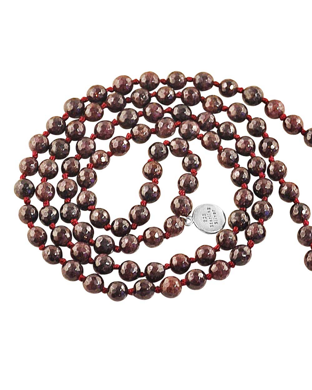 Garnet Mala Sacred Protection