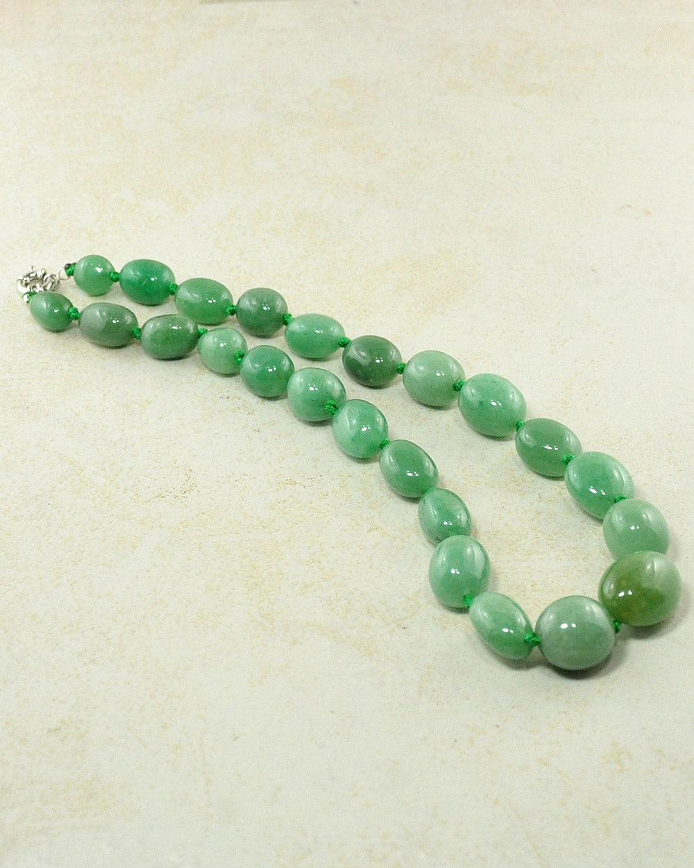 Natural Aventurine Large Crystals Necklace