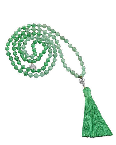 Green Jade Mala New Awakenings